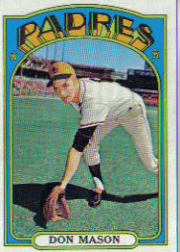 1972 Topps Baseball Cards      739     Don Mason